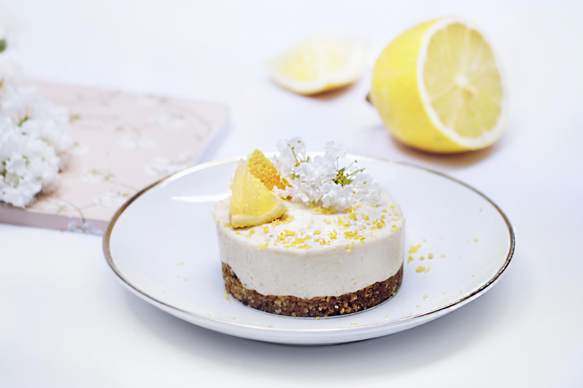 NoBake Lemon Kisscake